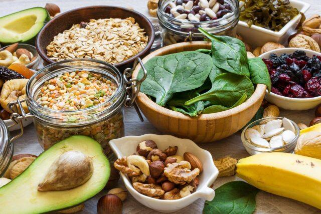 photo of potassium foods