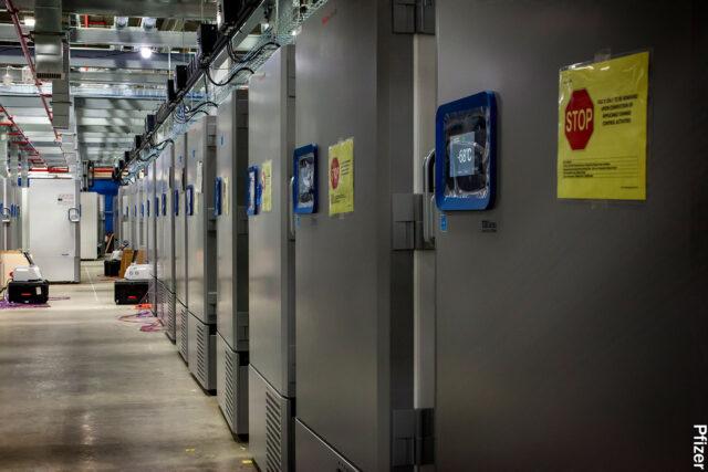 photo of vaccine storage